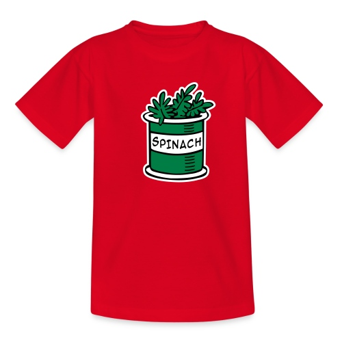 Spinach Kid's Classic T-Shirt - Teenage T-shirt
