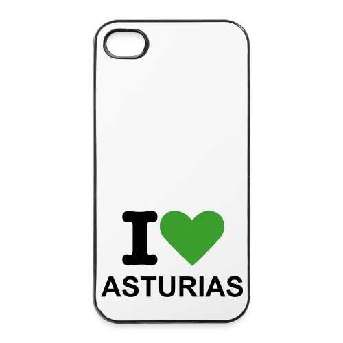 I Love Asturias iPhone - Carcasa iPhone 4/4s