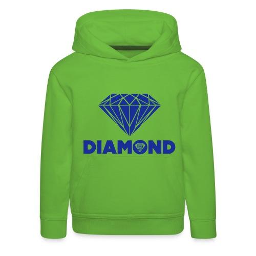 DIAMOND SWEATER - Kinderen trui Premium met capuchon