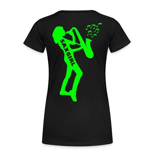 T-Shirt SAXGIRL Weiblich - Frauen Premium T-Shirt