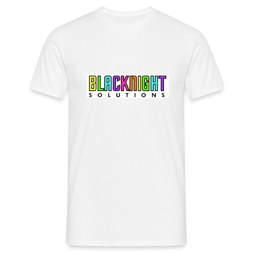 coloured logo t-shirt - Men's T-Shirt