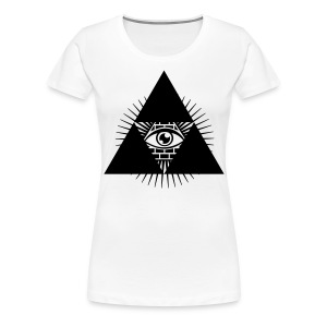 Classic T-shirt of Eye of the Triangle - Women's Premium T-Shirt