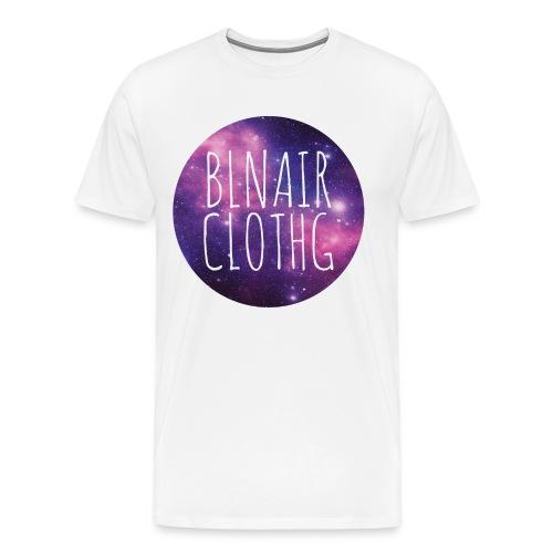 The Ball // BLNAIR Galaxy - Männer Premium T-Shirt