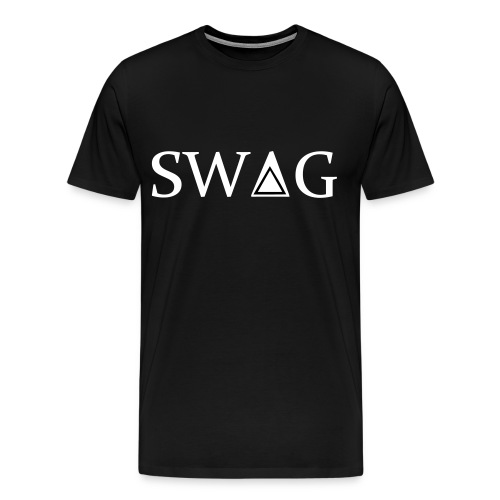 Classic T-shirt of SWAG - Men's Premium T-Shirt