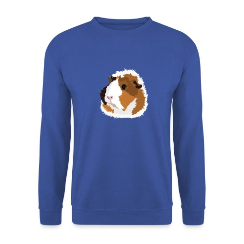 Retro Guinea Pig 'Elsie' Sweatshirt (no text) - Men's Sweatshirt