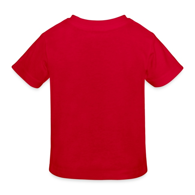 Kinder Bio-T-Shirt rot mit Hamster