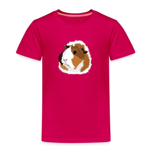 Retro Guinea Pig 'Elsie' Children's T-Shirt (no text) - Kids' Premium T-Shirt