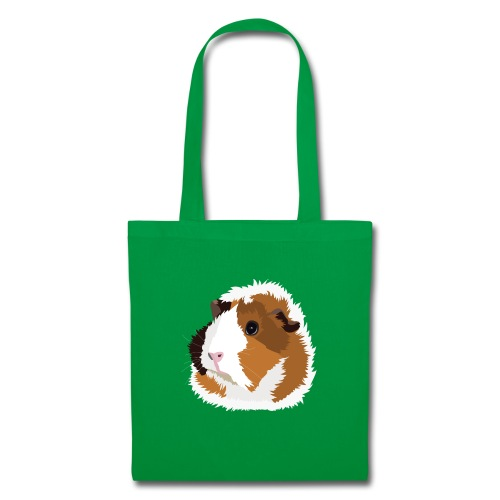 Retro Guinea Pig 'Elsie' Tote Shopping Bag (no text) - Tote Bag
