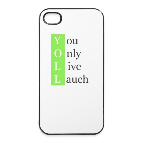 YOLL#Case - iPhone 4/4s Hard Case