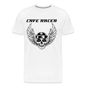 Mens Cafe Racer T Shirt - Men's Premium T-Shirt