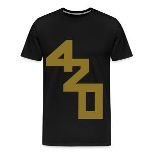 Happy 4/20! [Ltd gold foil] - Men's Premium T-Shirt