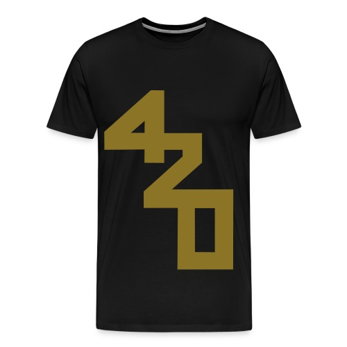 Happy 4/20! [Ltd gold foil] - Men's Premium T-Shirt