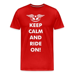mens KEEP CALM t shirt - Men's Premium T-Shirt