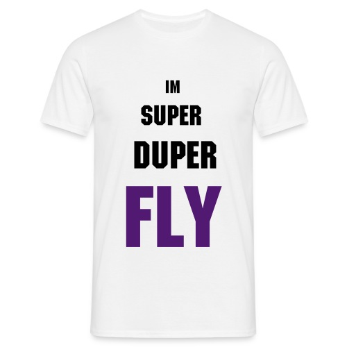 super duper fly tee - Men's T-Shirt
