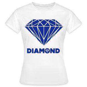 DIAMOND SHIRT - Vrouwen T-shirt
