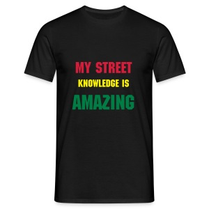 street knowladge tee  - Men's T-Shirt
