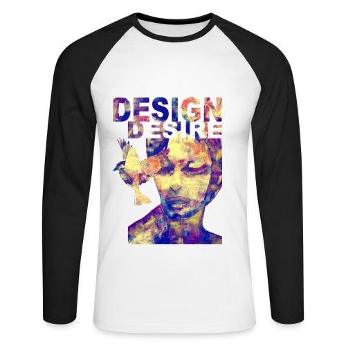 retro_desire_man - T-shirt baseball manches longues Homme