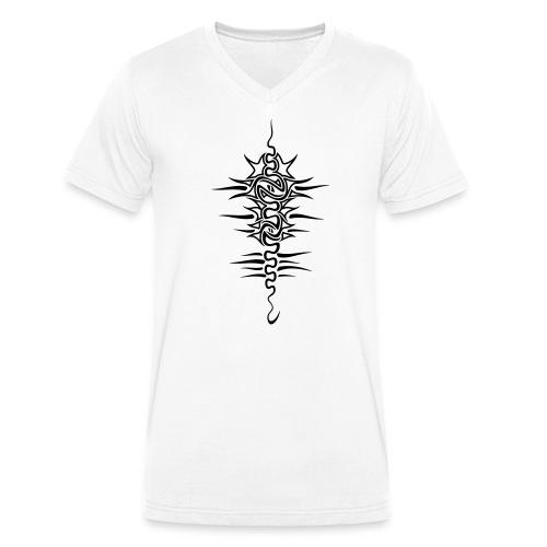 retro_spine_man - T-shirt bio col V Stanley & Stella Homme