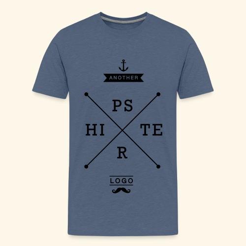 Hipster Logo Shirt T-Shirts - Teenager Premium T-Shirt