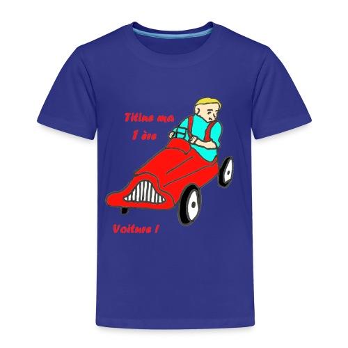 TS BLEU HOMME MA 1ère VOITURE - T-shirt Premium Enfant