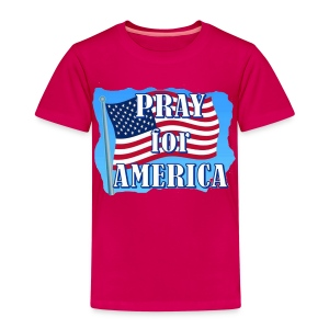 TS ROUGE HOMME PRAY OF AMERICA - T-shirt Premium Enfant