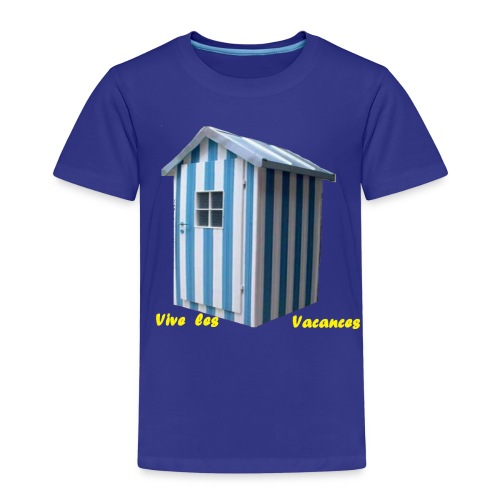 TS BLEU HOMME VACANCES - T-shirt Premium Enfant