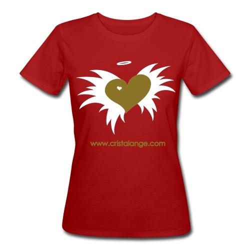 Boutique Bio femme Cristalange  - Women's Organic T-Shirt