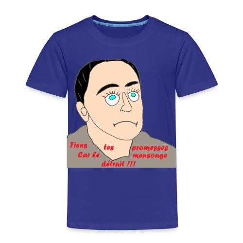 TS BLEU HOMME LE MENSONGE - T-shirt Premium Enfant