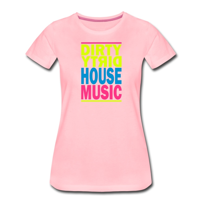 House Music Girlie weiß