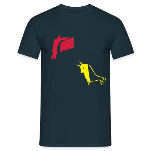 Bullfigthing - Herre-T-shirt