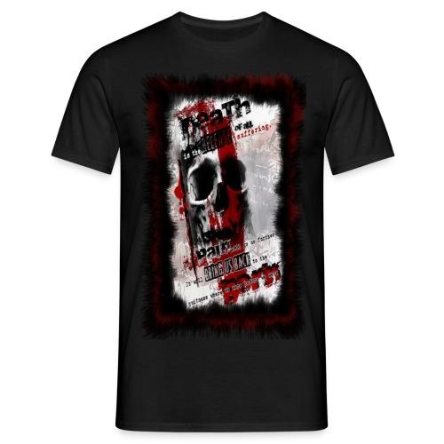 Polka Trash Tattoo Style - Männer T-Shirt