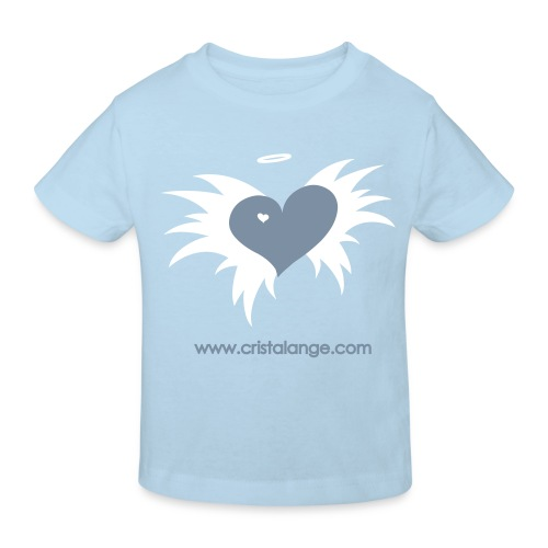 T-shirt BIO Cristalange coeur ange - Kids' Organic T-Shirt