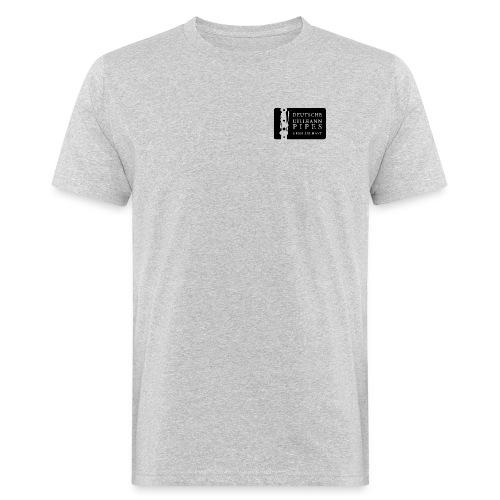 Bio Herren Shirt: DUPG Logo transparent - kleine Logo Größe - Männer Bio-T-Shirt
