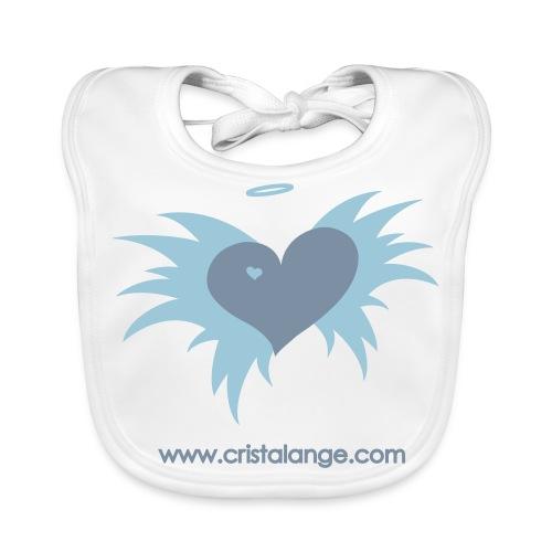 Bébé BIO : Coeur ailé Cristalange  - Baby Organic Bib