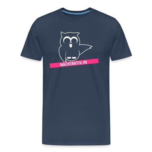 Zweifarbiges Logo - Männer Premium T-Shirt