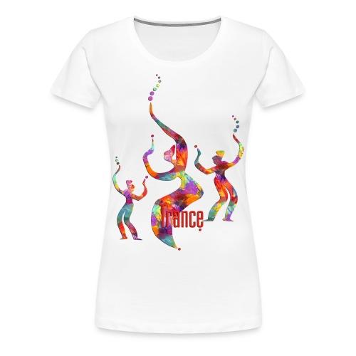 Trance Art Girlie - Frauen Premium T-Shirt