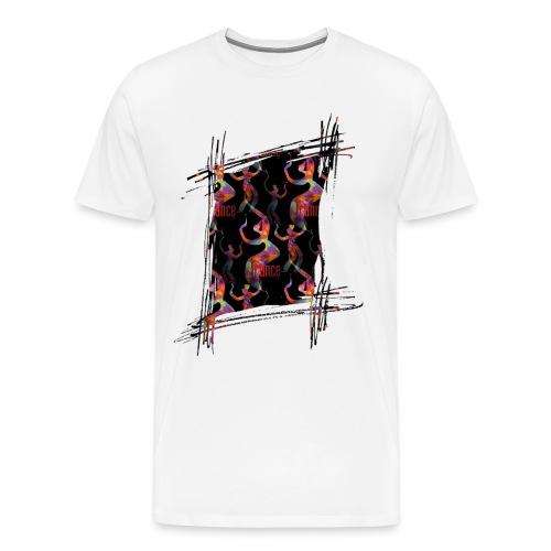 Art T-Shirt weiß - Männer Premium T-Shirt