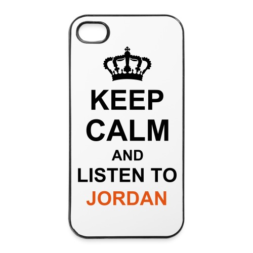 Keep Calm (Jordan) iPhone 4/4S case - iPhone 4/4s Hard Case