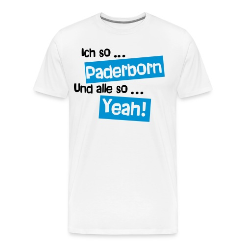 Paderborn City Shirt  - Männer Premium T-Shirt
