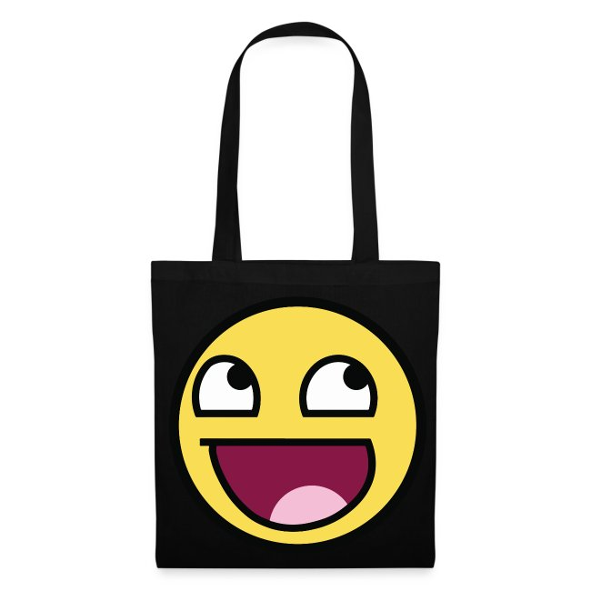 Awesome Smiley Tasche Beutel