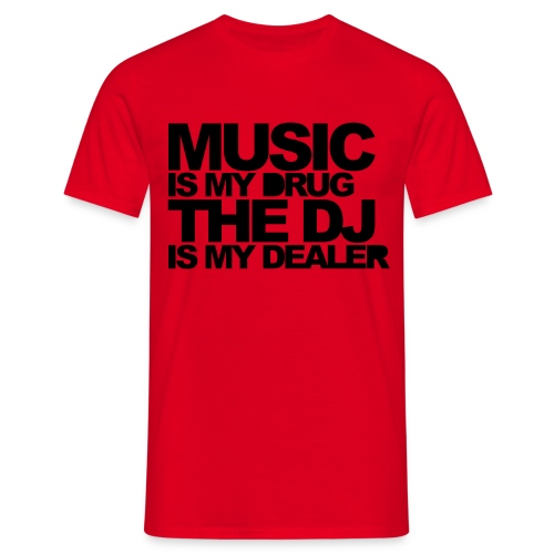 T-shirt Drug's Music - T-shirt Homme