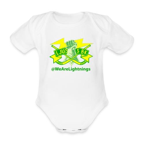Det ska börjas i tid - Ekologisk kortärmad babybody