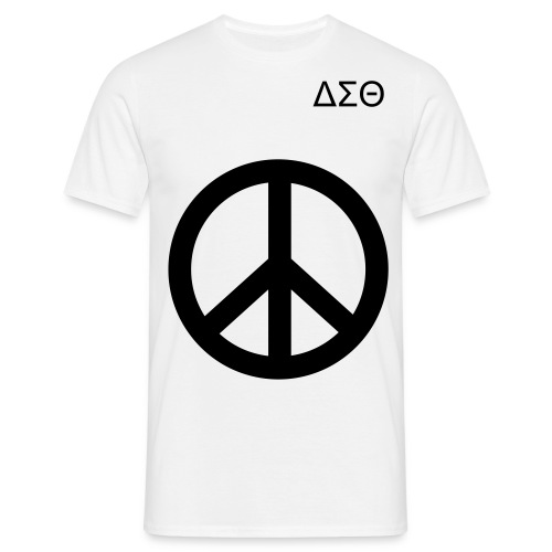 ΔΣΘ peace  - Men's T-Shirt