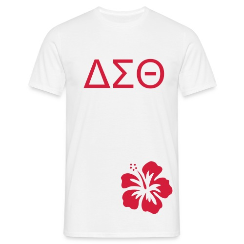 ΔΣΘ flower - Men's T-Shirt
