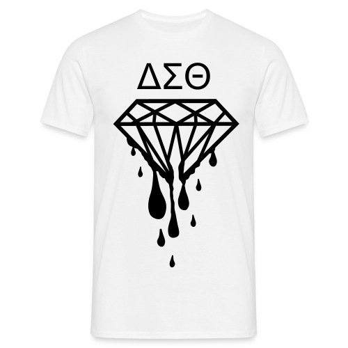 ΔΣΘ blood diamond - Men's T-Shirt