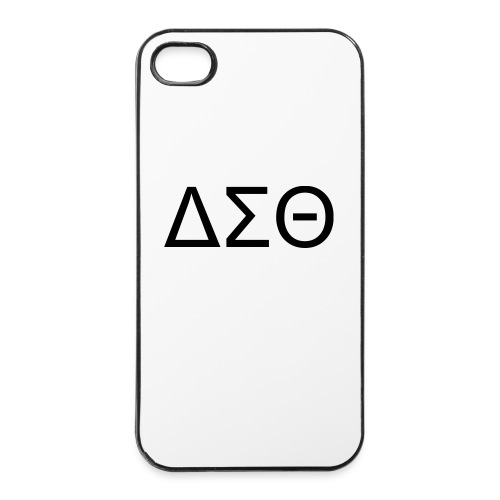 i phone 4 ΔΣΘ case - iPhone 4/4s Hard Case