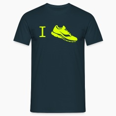 i love run sneaker T-Shirts