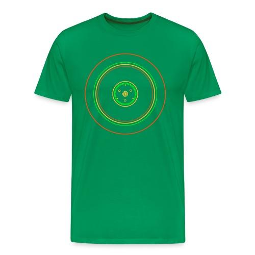 16 Zoll Felge Neon - Männer Premium T-Shirt