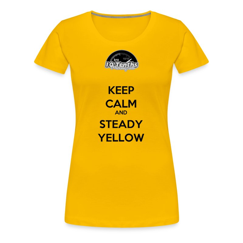 tenthskeepcalm - Women's Premium T-Shirt