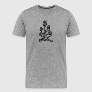 Magic mushrooms, Zauber Pilze, psychedelic, LSD T-Shirts - Männer Premium T-Shirt